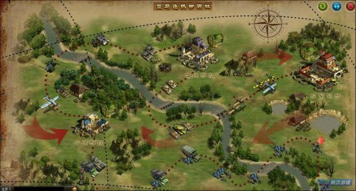 二战地图截图_二战游戏截图_52pk网页游戏