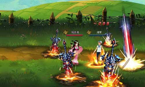 游戏评测《乱舞无双》2D横版水墨动漫风格