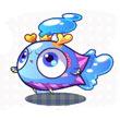洛克王国小蓝鱼/蓝龙鱼/龙鱼君主技能表种族值及天赋